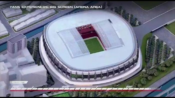The Jakmania berharap Jakarta International Stadium menjadi kandang Persija Jakarta (Pemprov DKI)