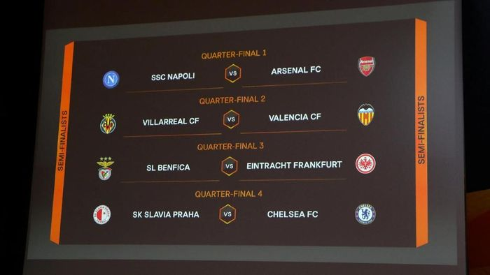 Drawing Liga Europa (Foto: Denis Balibouse/Reuters)
