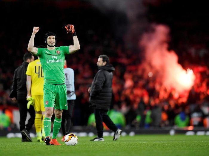 Kiper Arsenal, Petr Cech. (Foto: Tony OBrien/Reuters)