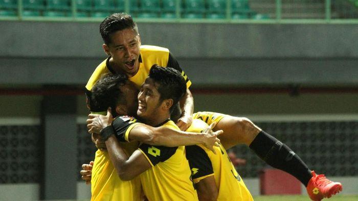 Bhayangkara FC kalahkan Bali United 4-1. (Foto: Risky Andrianto/Antara)