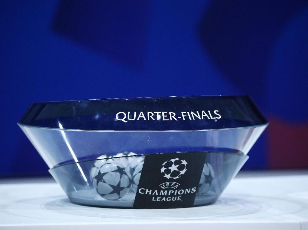 Jadwal Liga Champions Babak Perempatfinal