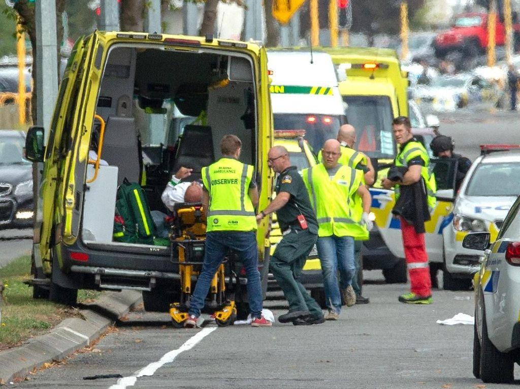 Dua Masjid di Selandia Baru Jadi Sasaran Penembakan Brutal