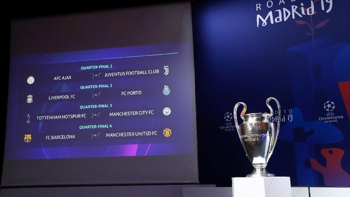 Drawing Liga Champions. (Foto: Denis Balibouse/REUTERS)