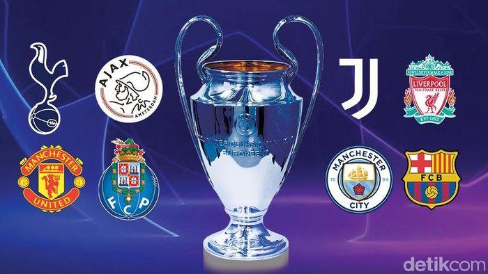 Drawing 8 Besar Liga Champions 18/19