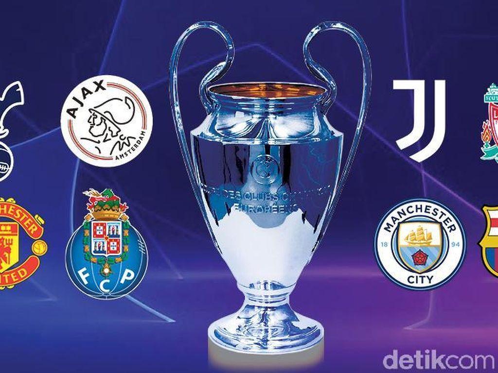 Leg I Perempatfinal Tuntas, Siapa ke Semifinal Liga Champions?