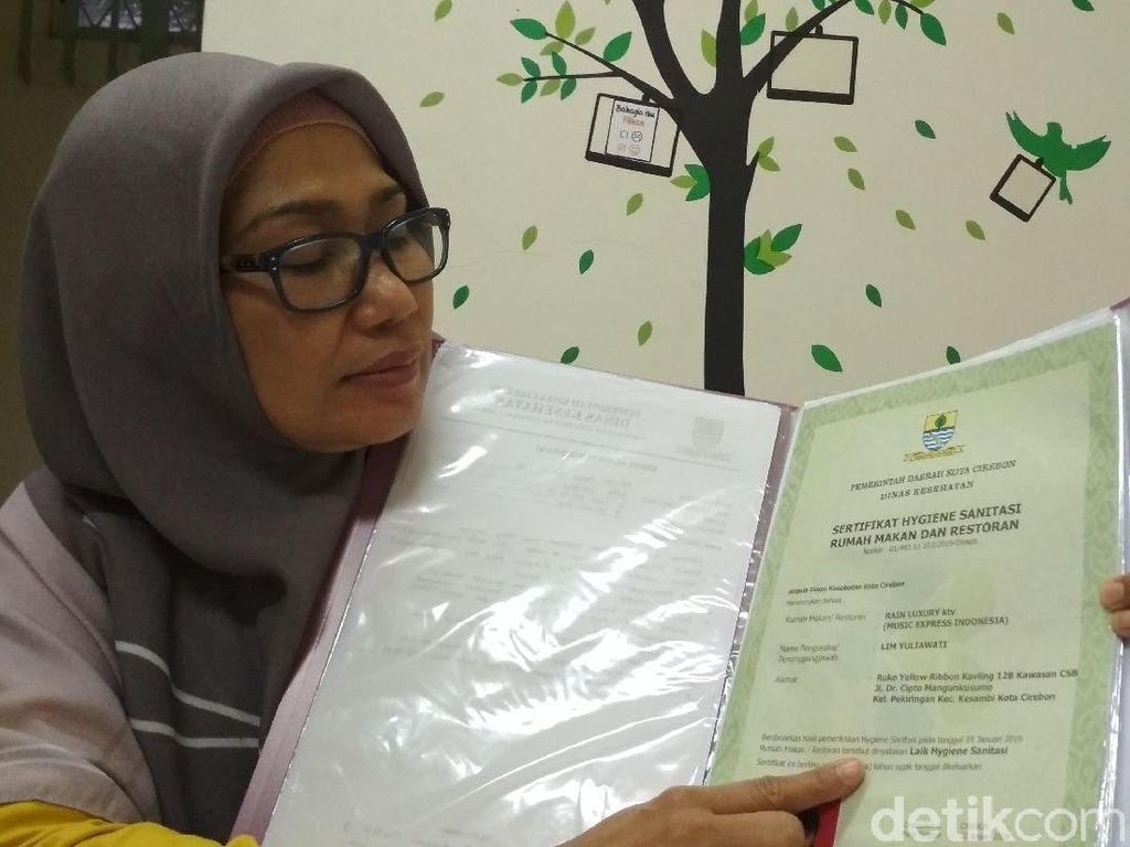 Kuliner di Cirebon, Perhatikan Sertifikat Laik Sehat di Rumah Makan