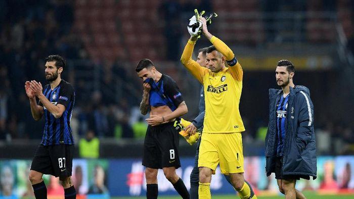 Inter Milan tersingkir dari Liga Europa. (Foto: Daniele Mascolo/Reuters)