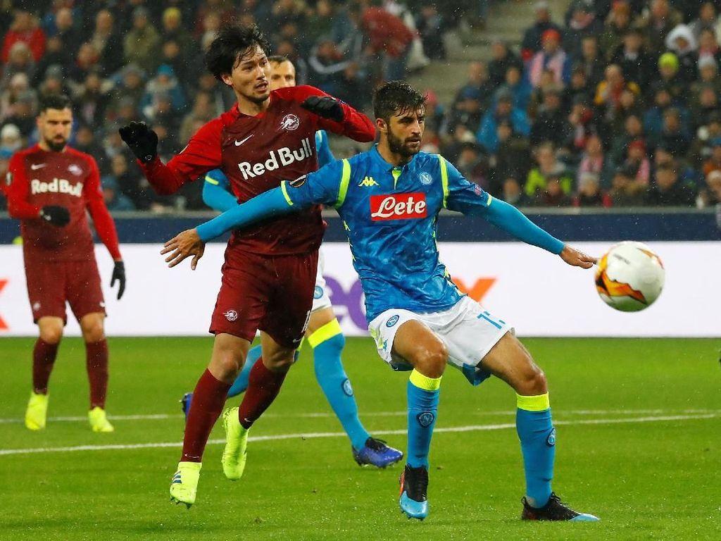Hasil Liga Europa: Meski Dikalahkan Salzburg, Napoli Lolos ke Perempatfinal