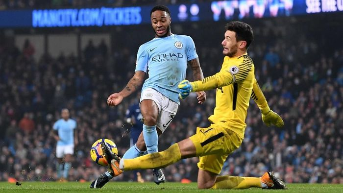 Kiper Tottenham Hotspur Hugo Lloris percaya dengan peluang timnya menghadapi Manchester City. (Foto: Laurence Griffiths / Getty Images)
