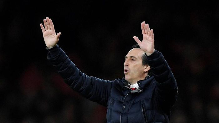 Manajer Arsenal, Unai Emery. (Foto: Tony OBrien/Reuters)