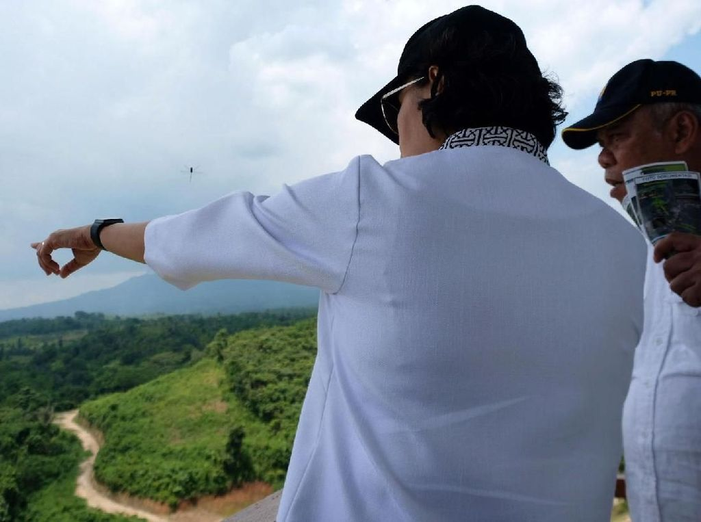 Wanti-wanti Sri Mulyani untuk Bendungan Sindangheula di Banten