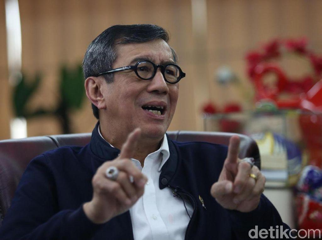 KPK Usul Koruptor Ditahan di Nusakambangan, Yasonna: Bisa Pesta Pora Dia Nanti