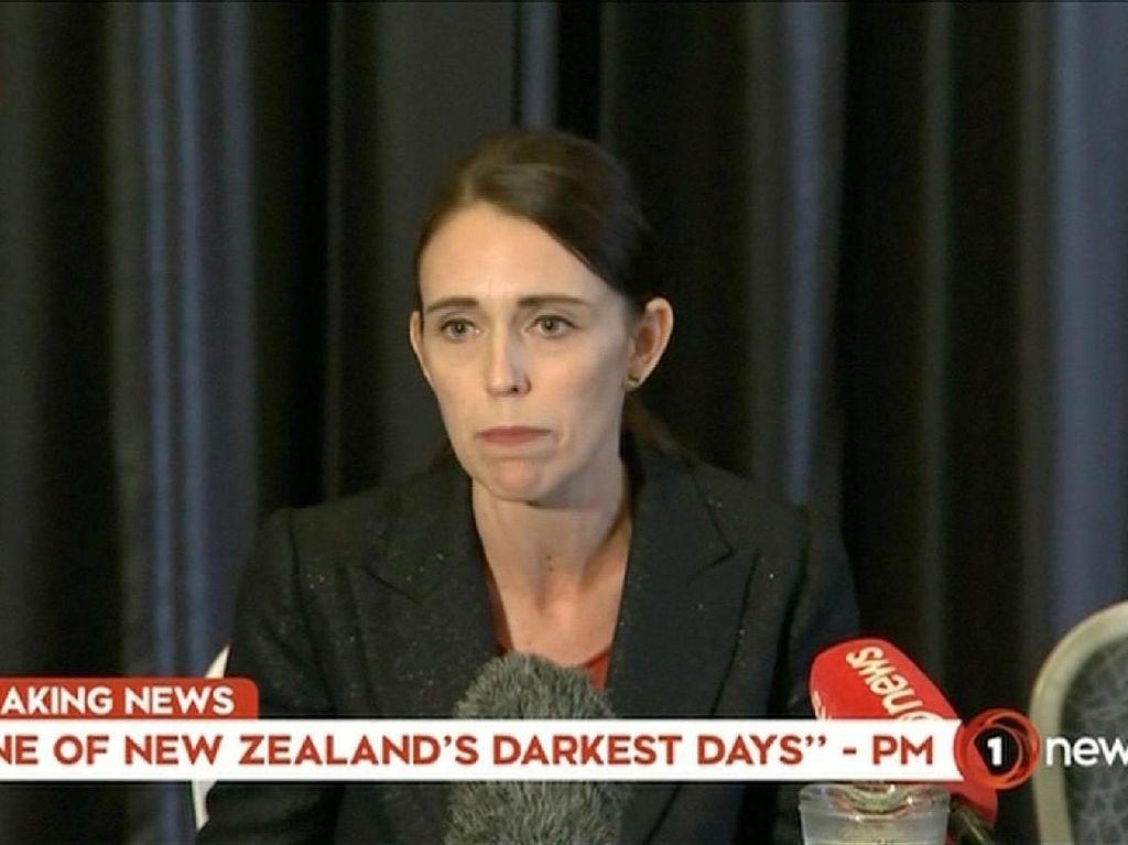Penembakan Brutal di Masjid, PM Selandia Baru: Ini Serangan Teroris!