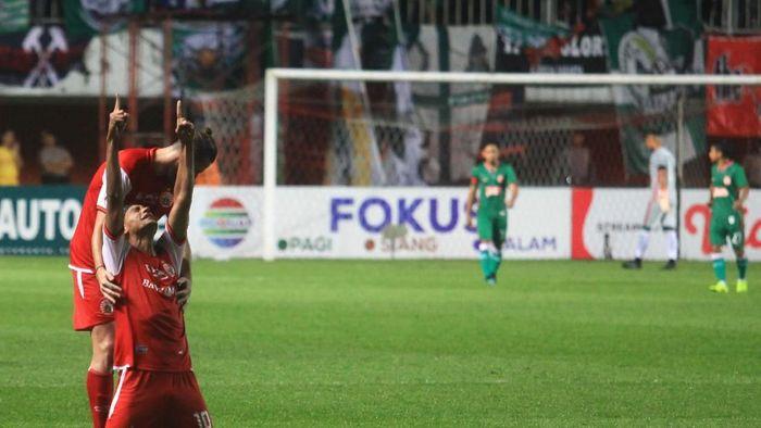 Persija Jakarta kalahkan PSS Sleman 2-0 (ANTARA FOTO/Andreas Fitri Atmoko)
