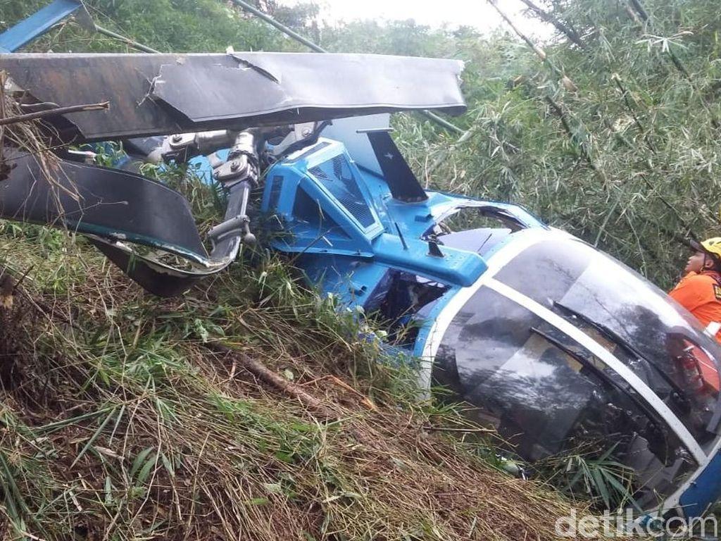 Sebelum Jatuh, Co-pilot Sebut Helikopter Dalam Keadaan Baik