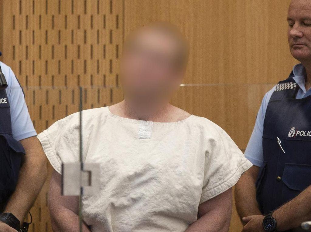 Pelaku Teror Masjid di New Zealand Tolak Didampingi Pengacara
