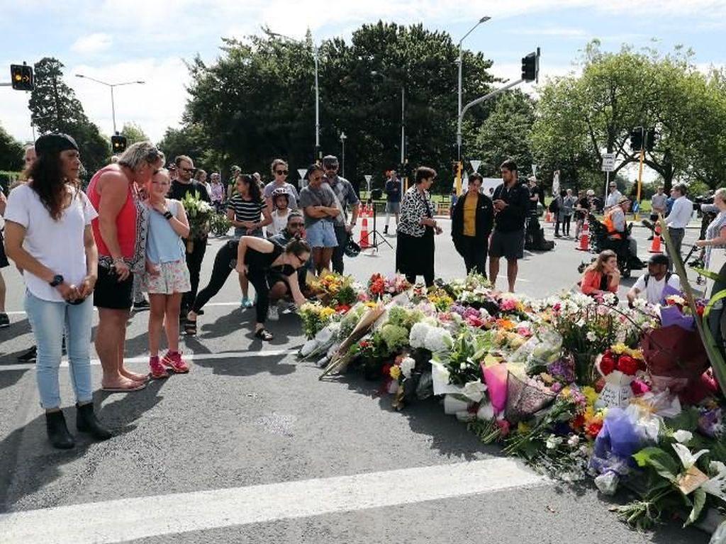 Haru! Istri Tewas Saat Ingin Lindungi Suami di Penembakan Masjid New Zealand