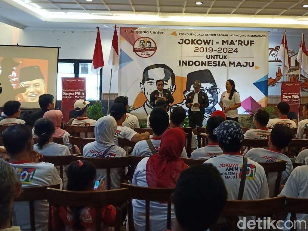 Pasca Rommy Jadi Tersangka, Relawan Jokowi Semarang Bakal Kerja All Aout