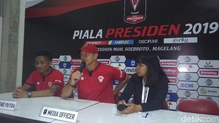 Kalteng Putra ke perempatfinal Piala Presiden 2019. (Foto: Eko Susanto/detikcom)