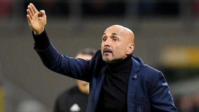 Inter Milan memberi indikasi bahwa posisi Luciano Spalletti masih aman (Foto: Daniele Mascolo/Reuters)