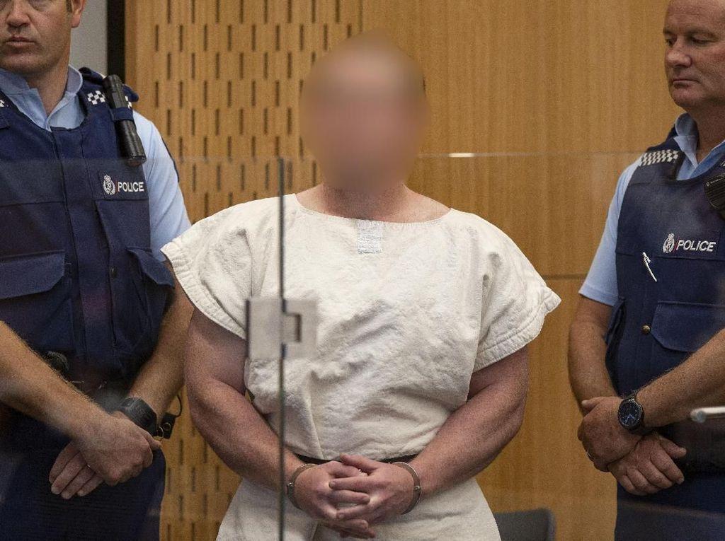 Pelaku Aksi Teror di Dua Masjid Selandia Baru Disidang