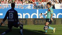 Dari Tiga Pertemuan, De Gea Empat Kali Dibobol Messi