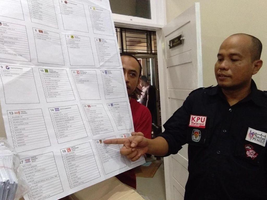 KIP Kota Lhokseumawe Temukan 10.403 Lembar Surat Suara Rusak