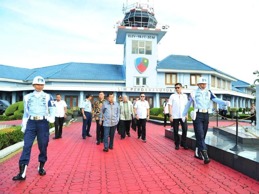 Bertolak ke Bandung, JK Hadiri Silaturahmi Kebangsaan
