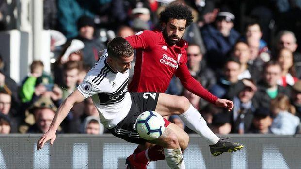 Liverpool kalahkan Fulham 2-1. (