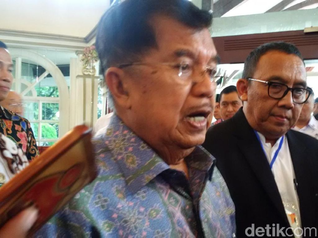 Wapres JK : Saya Percaya Pak Jokowi Tidak Punya Niat Otoriter