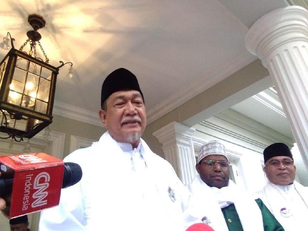 Deddy Mizwar dan Yenny Wahid Datangi Rumah Maruf Jelang Debat