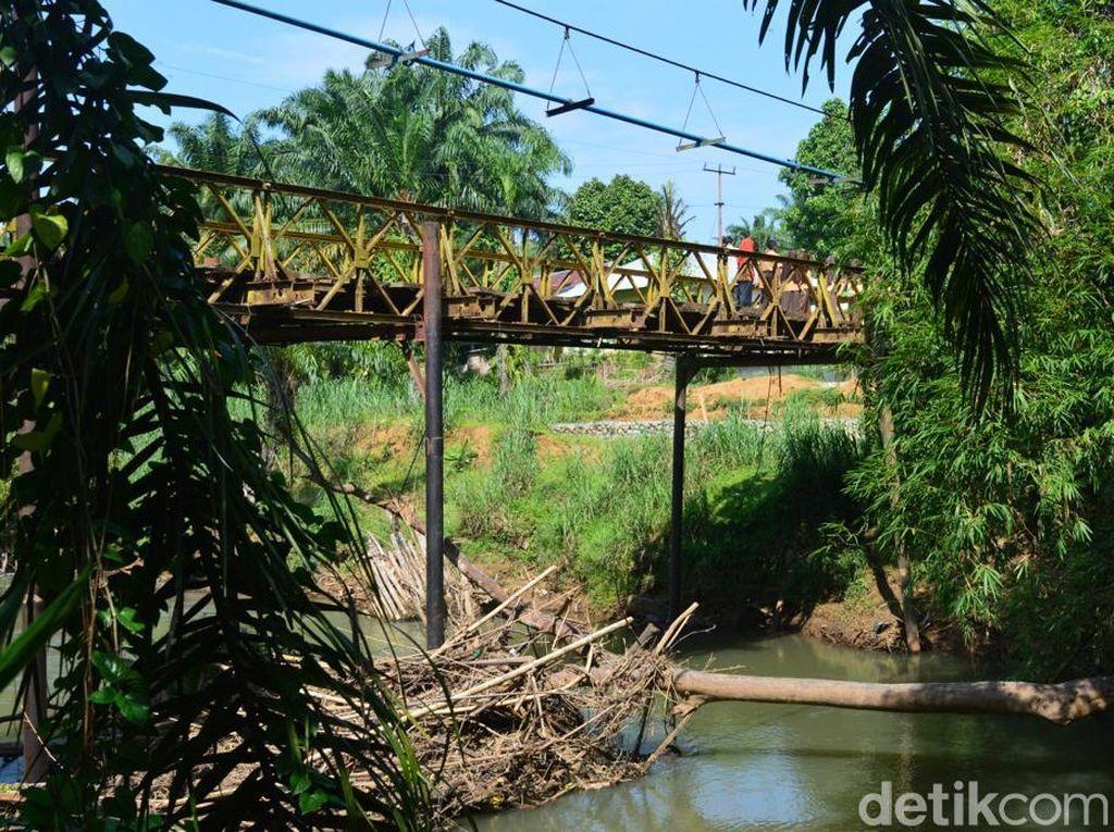 Jokowi Ganti 2 Jembatan Uzur di Pelosok Bengkulu Pakai Rangka Baja