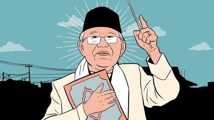 Fakta KH Maruf Amin: Ogah Poligami hingga Fatwa Haram Bunga Bank