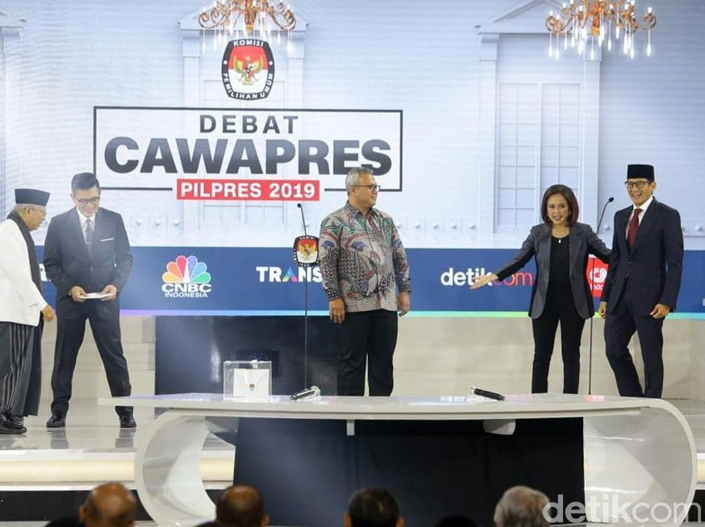 Taktik 10 Years Challenge Maruf Amin vs Taktik Kolaborasi Sandi