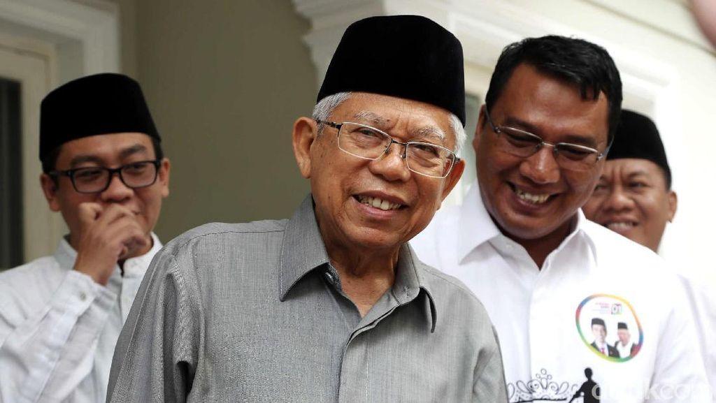 Jelang Debat Cawapres, Maruf Amin Semringah Banget