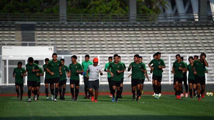 Timnas bawa 24 pemain ke Vietnam, termasuk Egy Maulana Vikri, Ezra Wlaian, dan Saddil Ramdani. (Sigid Kurniawan/ANTARA FOTO)