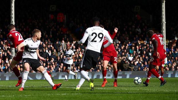 Hasil Liga Inggris: Penalti Milner Menangkan Liverpool di Kandang Fulham