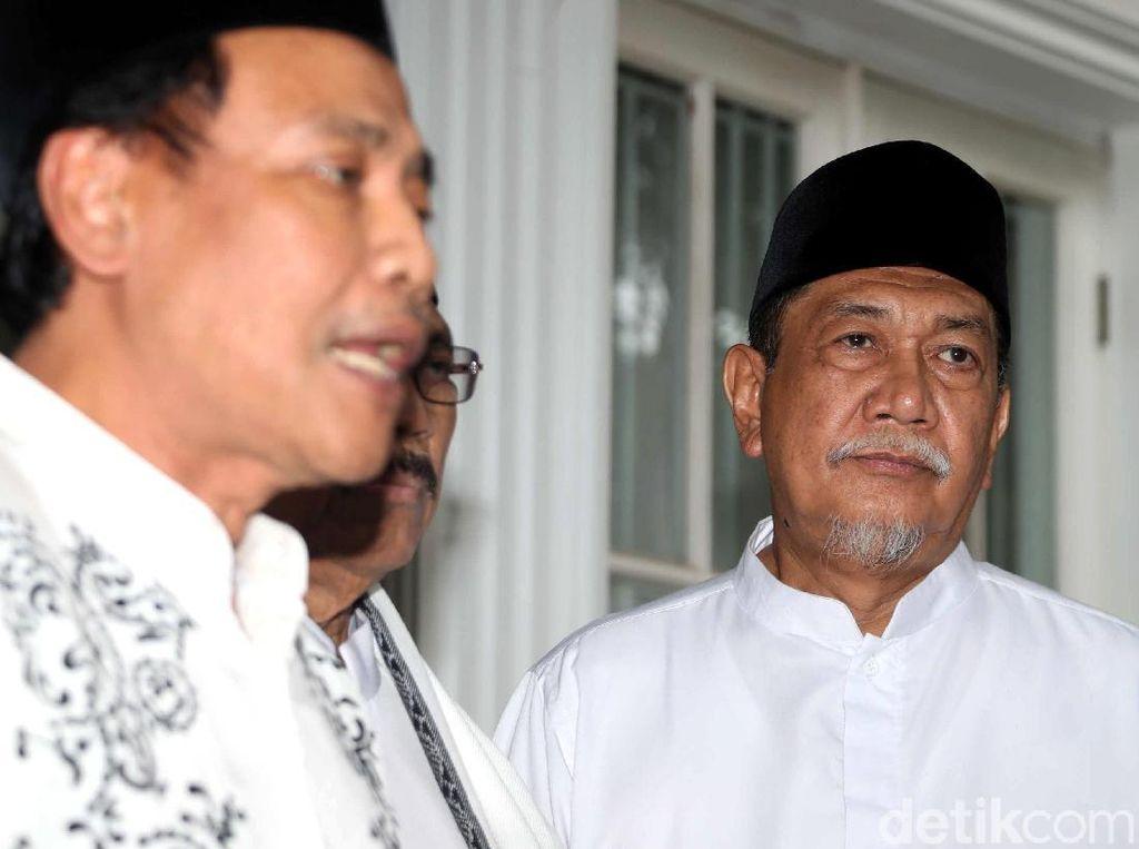 Deddy Mizwar Hingga Yenny Wahid Sambangi Rumah Maruf Amin