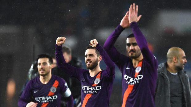 Manchester City ditunggu 15 laga krusial untuk mewujudkan quadruple