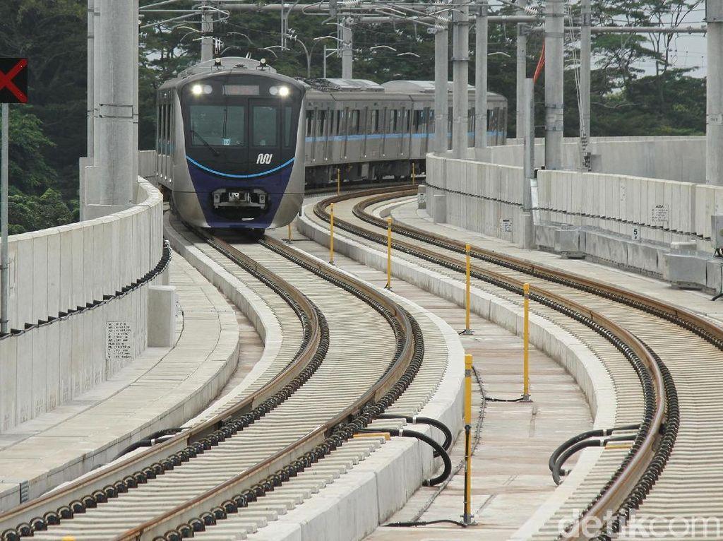 Sejarah Panjang MRT Jakarta, Digagas 1985 Diresmikan 2019