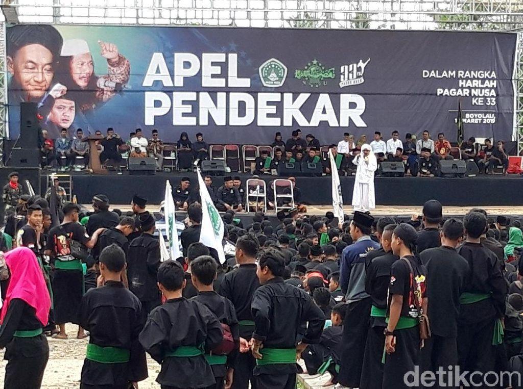 Pemilu 2019, Pagar Nusa Menyatakan Netral dan Siap Jaga NKRI