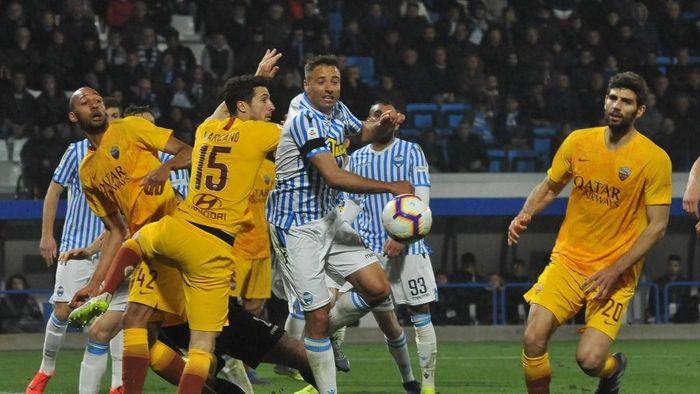 AS Roma ditumbangkan SPAL. (Foto: Mario Carlini / Iguana Press/Getty Images)
