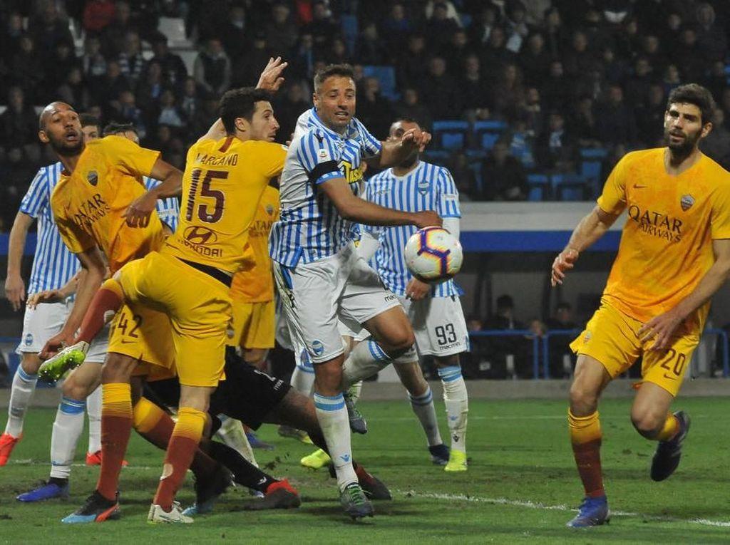 Hasil Liga Italia: Roma Kalah 1-2 dari SPAL