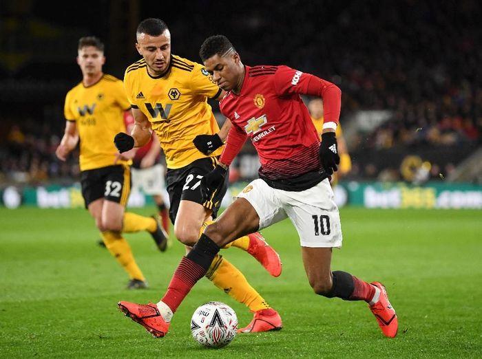 Wolverhampton Wanderers sudah melupakan kemenangan beruntun atas Manchester United musim lalu. (Foto: Michael Regan/Getty Images)