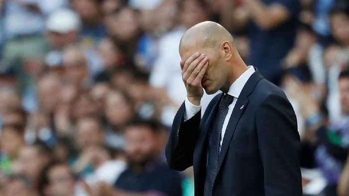 Zinedine Zidane memulai comeback-nya di Real Madrid dengan kemenangan atas Celta Vigo (REUTERS/Susana Vera)