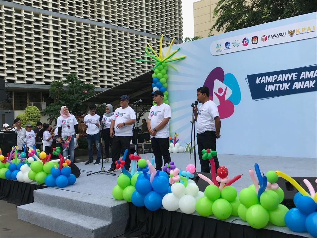 KPAI, KPU hingga Bawaslu Deklarasi Pemilu Ramah Anak