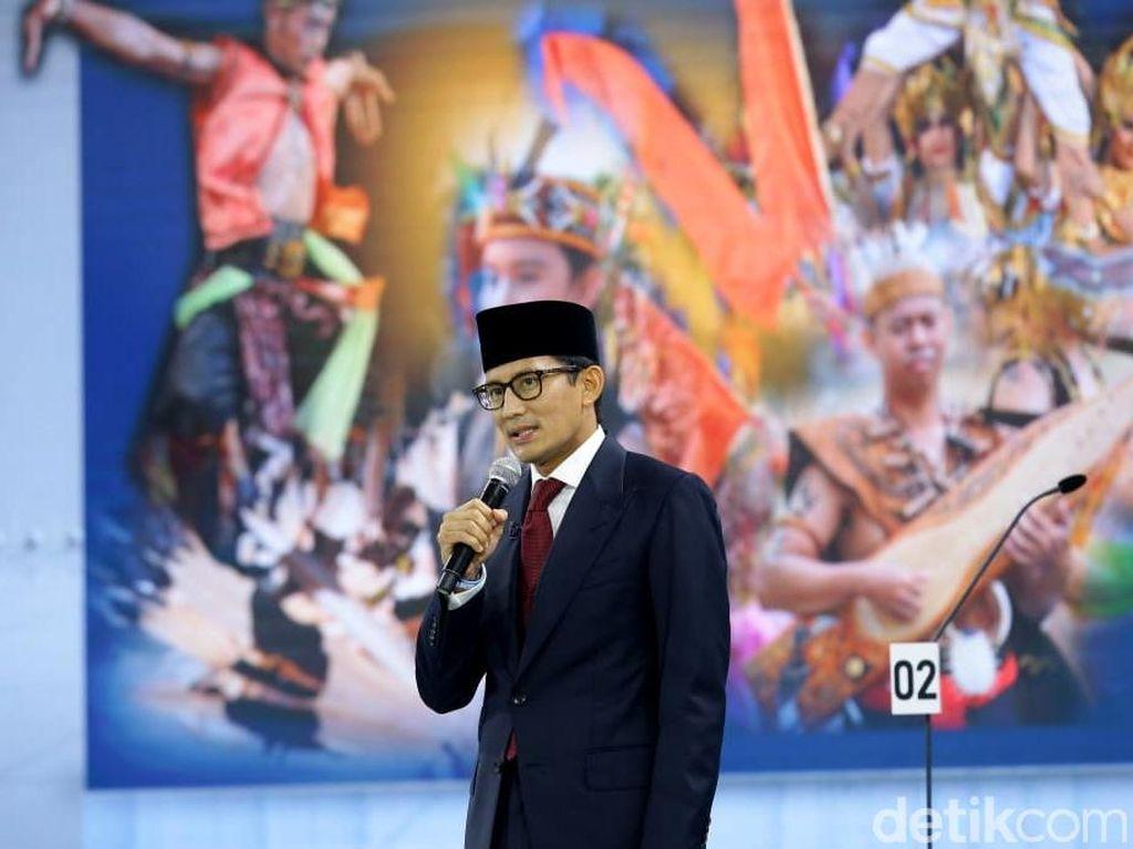 Sandi Sebut Potensi Pariwisata Jadi Keunggulan Budaya Indonesia