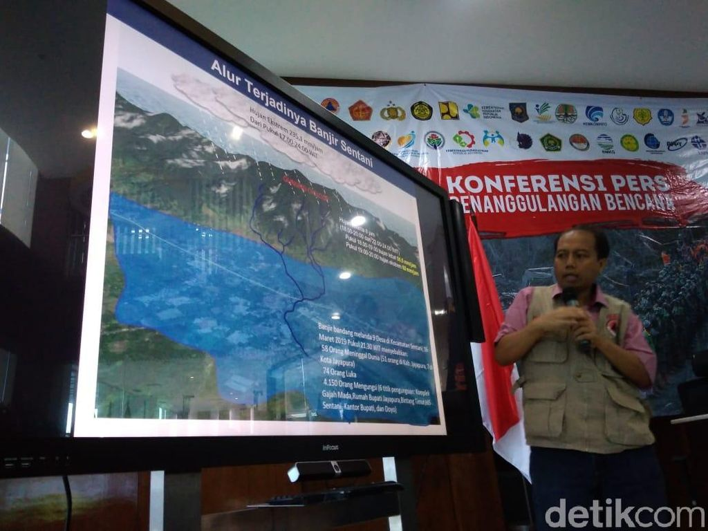 Gunung Cycloop Gundul Diduga Jadi Pemicu Banjir Bandang Sentani Papua