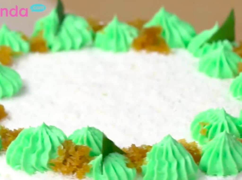 Resep Cake Klepon, Kreasi Jajanan Tradisional Kesukaan Maruf Amin