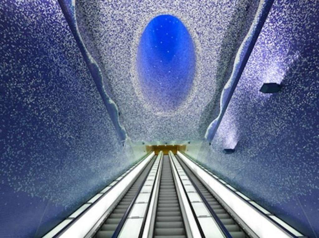 Mau Naik MRT? Nih Cek Dulu Stasiun MRT Keren di Penjuru Dunia